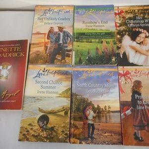 Harlequin Love Inspired Lot 7 books Romance
